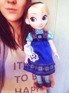 Ma poupée Elsa Animator