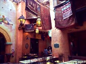 Agrabah Café Intérieur 1