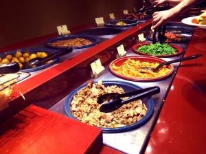 Agrabah Café Buffet Plats