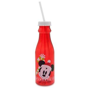 8 DECEMBRE Bouteille pour soda Mickey Noël - 10euros90