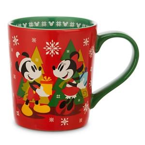 Mug Mickey et Minnie Mouse Noël - 14euros90