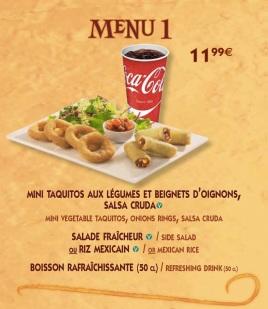 menu 1 fuente del oro