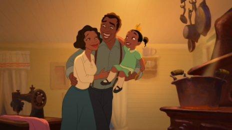 parents de tiana