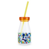 Bouteille de lait Mickey Mouse collection Summer Fun - 8€90