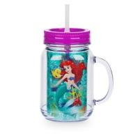 Gobelet pot de confiture Ariel avec paille - 9€90