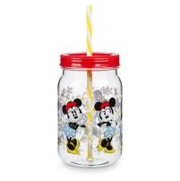 Gobelet pot Minnie avec paille - 10€90