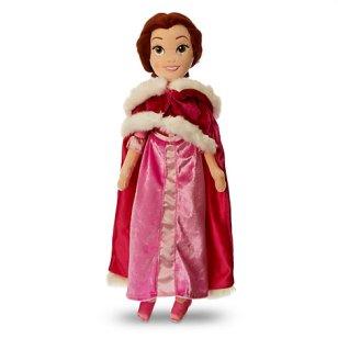 Poupée en peluche Belle en robe rose - 27€99