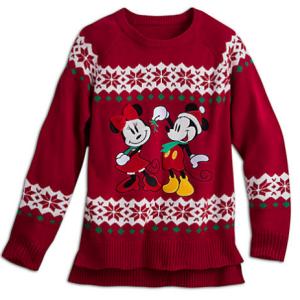 Pull de Noël Mickey et Minnie pour femmes - 35€99