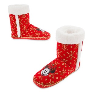 Chaussons de Noël Mickey et Minnie - 23€