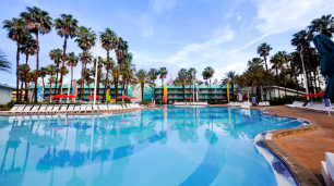 sports resort pool