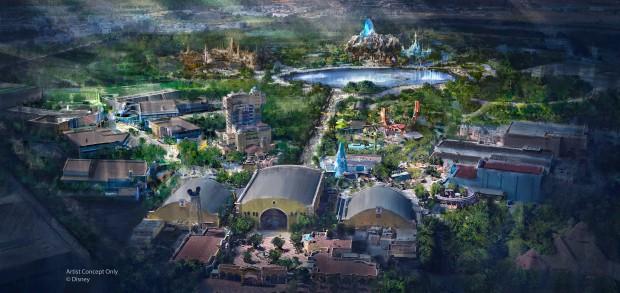 Concept Art Walt Disney Studios