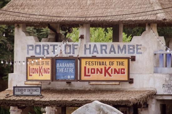 festival of the lion king - entrance